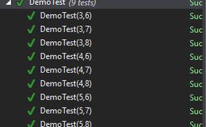 .net持續整合測試篇之Nunit引數化測試