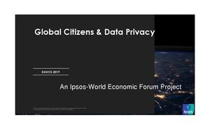 益普索:2019年全球公民對資料隱私的態度調查報告