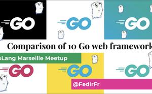 PPT 分享:《10  個 Go Web 開發框架對比》