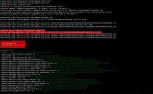 Composer 提示 zlib_decode (): data error